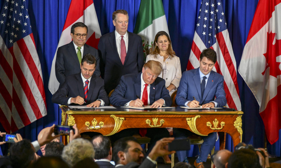 Us, Mexico, Canada sign new NAFTA - USMCA