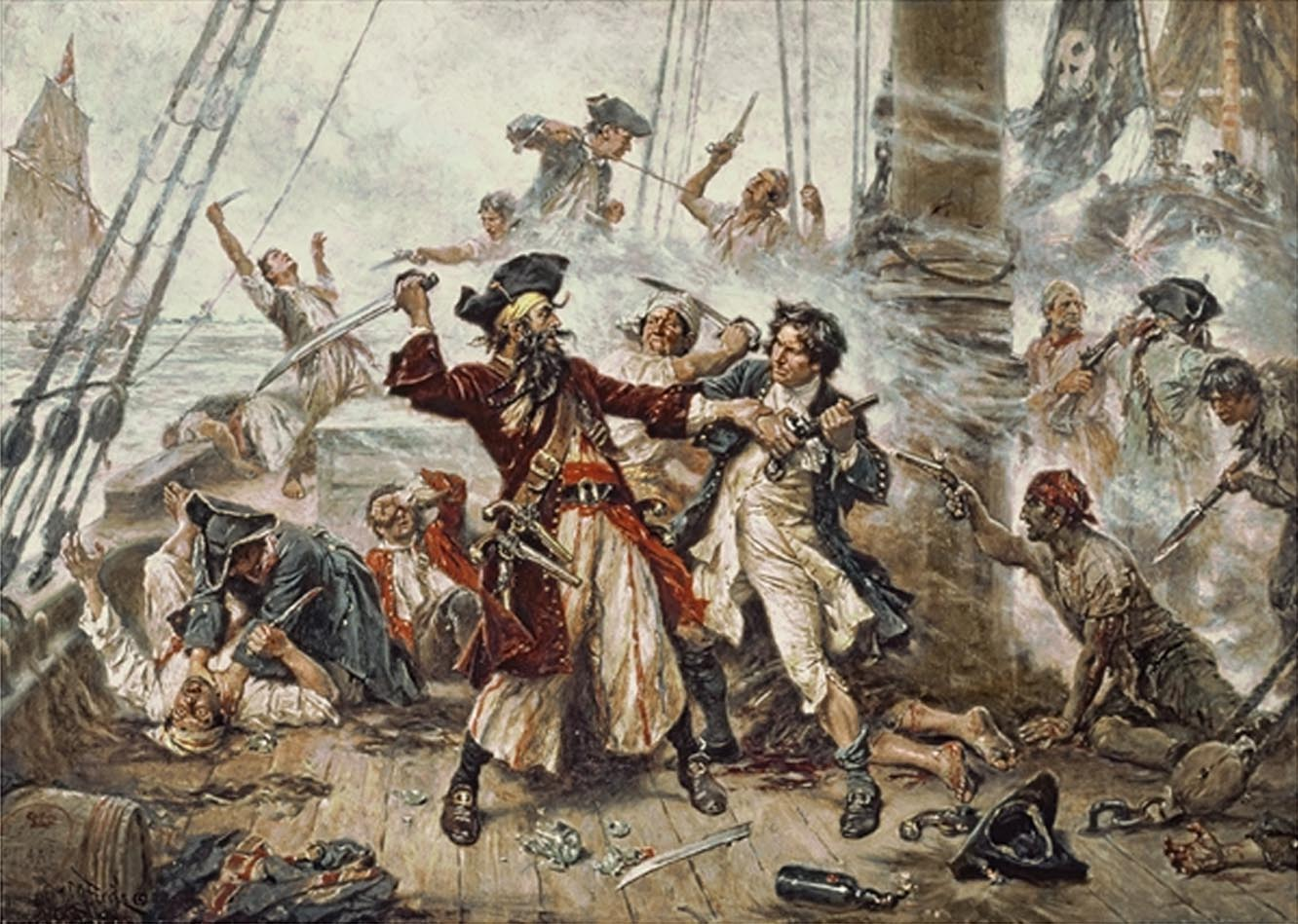 Pirate Crew Outsourcing History